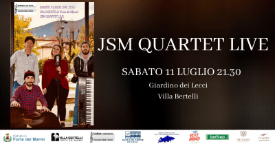 Concerto JSM Quartet 11 luglio